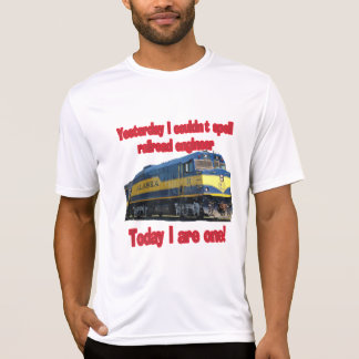 Yesterday I couldn't spell engineer T-Shirt