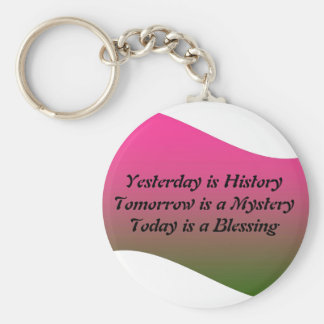 Yesterday if History Keychain