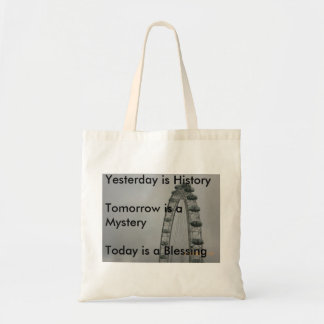 Yesterday is History Bags