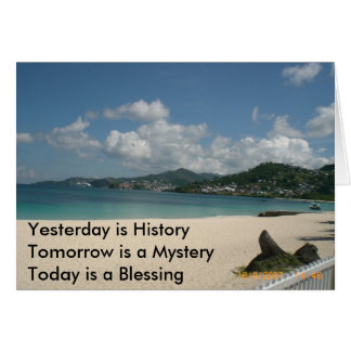 Yesterday is History Greeting Cards