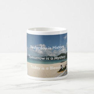 Yesterday is History Coffee Mug