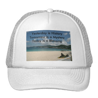 Yesterday is History Trucker Hat