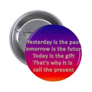 yesterday is the past button