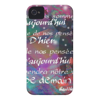 Yesterday, today and future are always in our mind iPhone 4 Case-Mate case