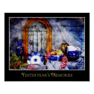 Yesterday's Memories - POSTER - Antiques