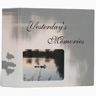 Yesterdays Memories Scrapbook by Janz Binder