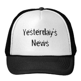 Yesterday's News Mesh Hat