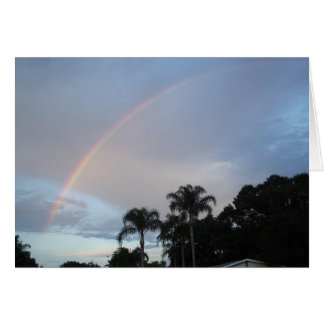 Yesterday's Rainbow Greeting Card