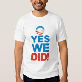 yeswedid camisas