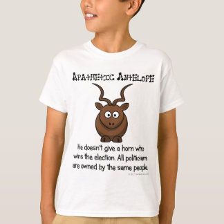 Yet another apathetic voter T-Shirt