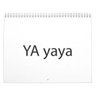 Yet Another Ya-Ya (as in yo-yo).ai Calendar