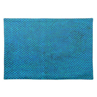yet to another to underwater snakeskin type design placemat