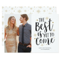 Yet to Come New Year Holiday Photo Card