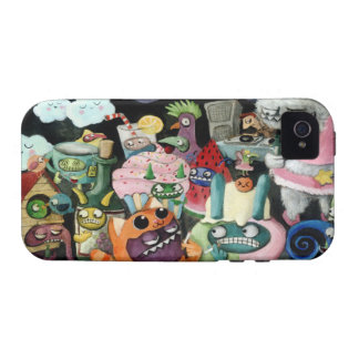 Yeti and Monsters Party Case For The iPhone 4