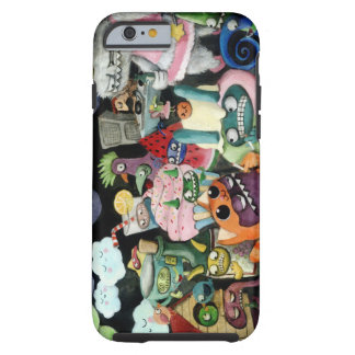 Yeti and Monsters Party! Tough iPhone 6 Case