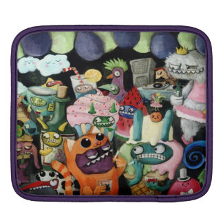 Yeti and Monsters Party! Sleeve For iPads