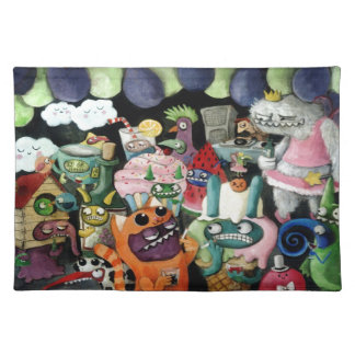 Yeti and Monsters Party! Place Mats