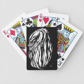 Yeti Bicycle Playing Cards