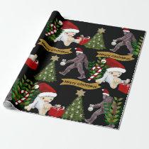 Yeti & Bigfoot Christmas Wrapping Paper