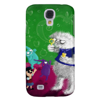 Yeti blowing Bubbles Samsung Galaxy S4 Cases