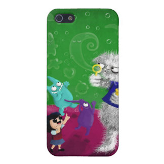 Yeti blowing Bubbles Cases For iPhone 5