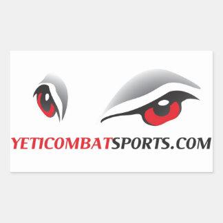 Yeti Combat Sports Sticker