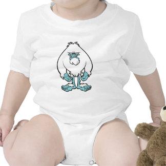 Yeti contrariedad traje de bebé