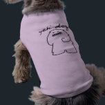 """Yeti Dogs Pet T-shirt (Dark Logo)<br><div class=""""desc"""">Here&#39;s a little gift for your &quot;yeti&quot; dog. :)</div>"""