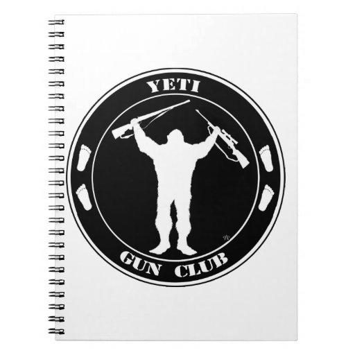 Yeti Gun Club Spiral Note Book
