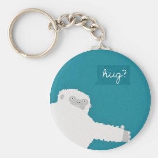 Yeti Hug Keychain