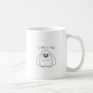 Yeti - I saw a man Coffee Mug