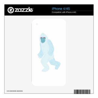 Yeti iPhone 4S Skin