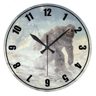 Yeti Large Clock