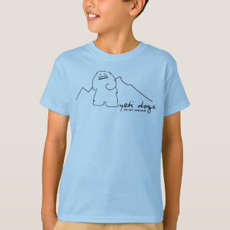 Yeti Lone Peak Kids T-shirt (Black Logo)