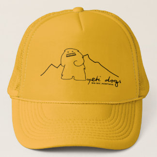 Yeti Lone Peak Trucker Hat (Dark Logo)