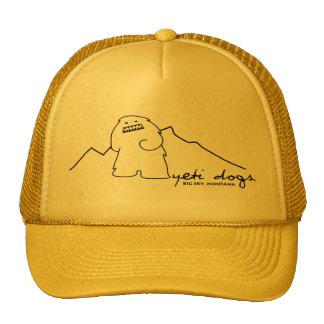 Yeti Lone Peak Trucker Hat Dark Logo