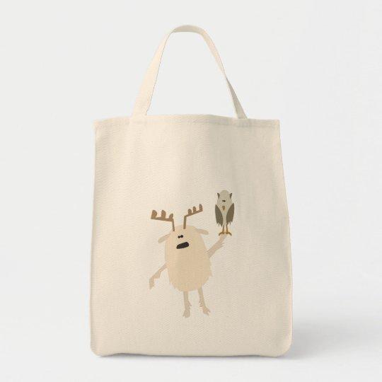 Yeti & Owl Tote Bag