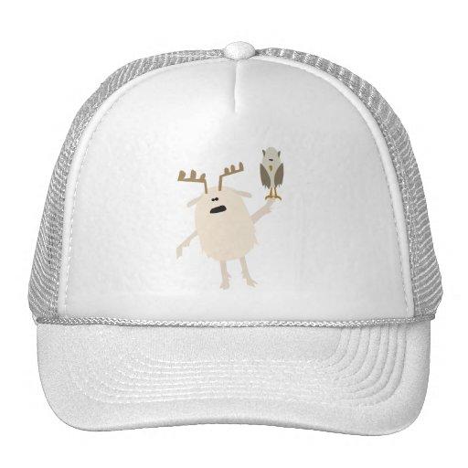 Yeti & Owl Trucker Hat