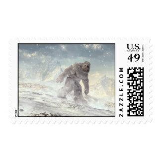 Yeti Postage Stamps