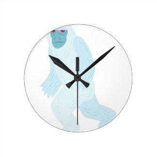 Yeti Round Clock