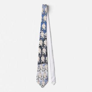 Yeti tejó el lazo corbata