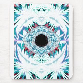 yeti & the sacred eye mouse pad