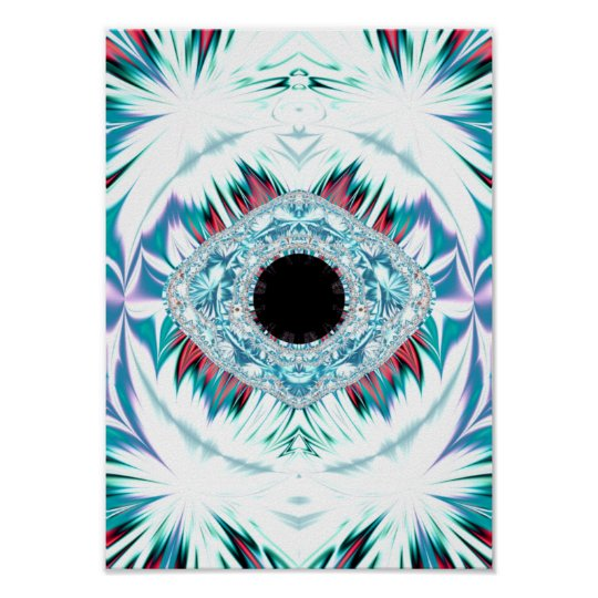 yeti & the sacred eye poster