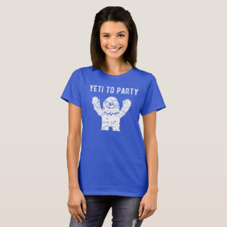 Yeti To Party Abominable Snowman Shirt