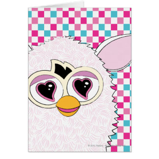 Yeti White Furby Card