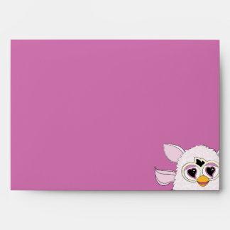 Yeti White Furby Envelope