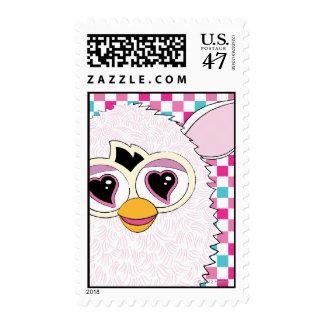 Yeti White Furby Postage