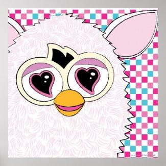 Yeti White Furby Posters