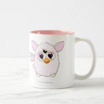 Yeti White Furby Two-Tone Coffee Mug