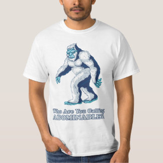 Yeti: Who are you calling Abominable?! T-Shirt